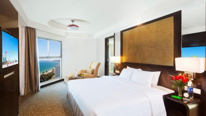 Căn hộ 3 phòng ngủ độc đáo của Vinpearl Empire Condotel Nha Trang