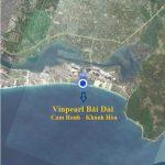 Vị trí và diện tích xây dựng Vinpearl Long Beach Villas