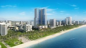 phoi canh Vinpearl Beach front Condotel tai Tran Phu 3
