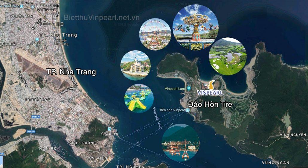 Đánh giá vị trí dự án Vinpearl Island Condotel Hòn Tre