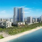 Hình ảnh phối cảnh dự án Vinpearl Beach Front Condotel Trần Phú