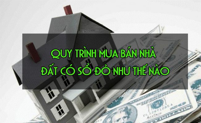 Quy trình mua bán nhà đất