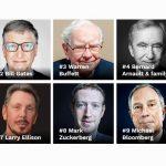 Tỷ phú giàu nhất thế giới – họ là ai? Kinh doanh trong lĩnh vực nào?